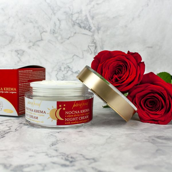 Rose Day and Night Cream - Dual Chamber (50ml + 50ml)