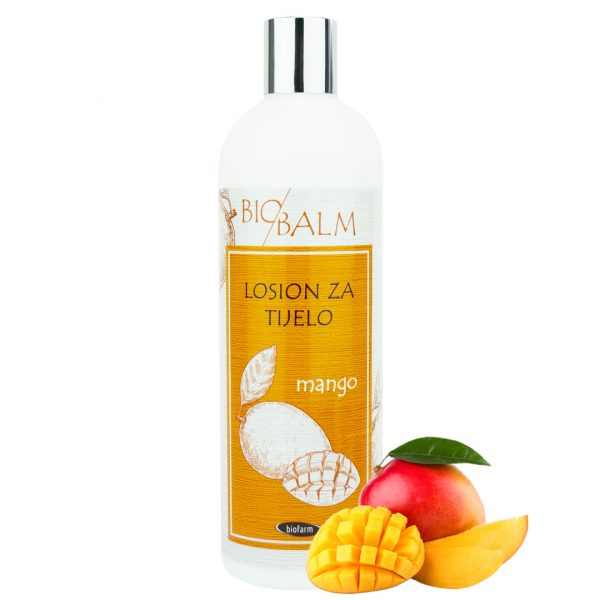 Body lotion Mango