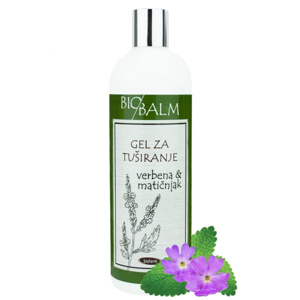 BIOBALM Shower gel Verbena and lemon balm (500 ml)