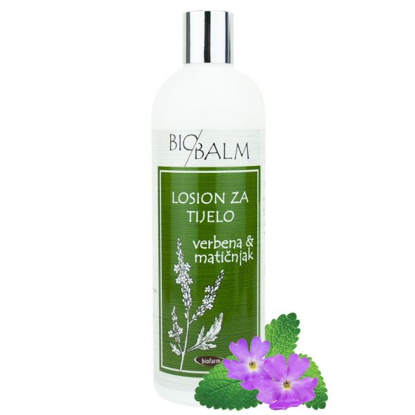 Body lotion Verbena and lemon balm (500 ml)